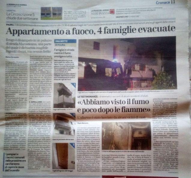 incendio appartamento
