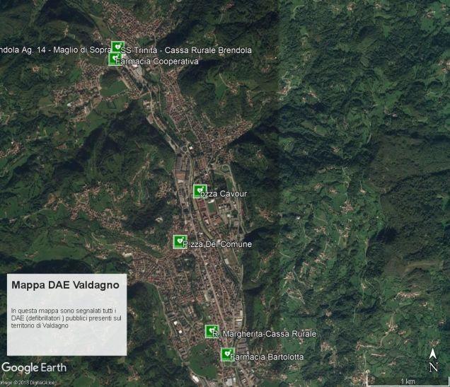Mappa Dae Valdagno